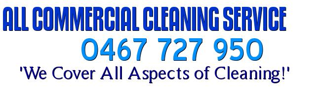 ALL-COMMERCIAL CLEANING SERVICE
